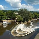 River Avon, Bath, England by SusanAdey