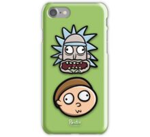 Rick and Morty Derp Faces - Pesty Edition iPhone Case/Skin