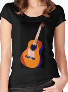 Guitar of Colors Women's Fitted Scoop T-Shirt