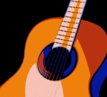 Guitar of Colors Sticker