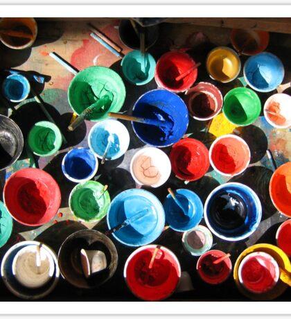 Tibetan Painting Equipment Sticker