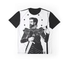 The King in Arms Graphic T-Shirt