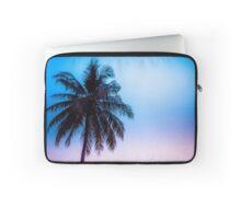 Palmen Sonnenuntergang Laptop Sleeve