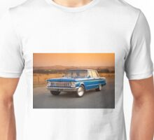 Blue Ford XP at Sunset Unisex T-Shirt