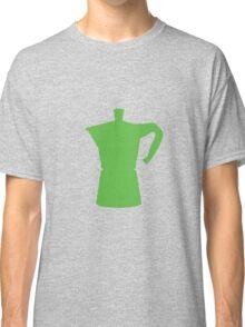 Green Moka Pot Classic T-Shirt
