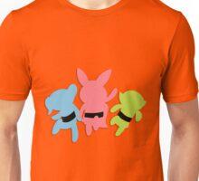 PowerPuff Girl silhouettes Unisex T-Shirt