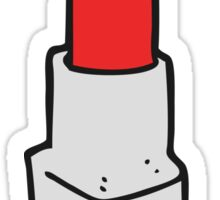 cartoon lipstick Sticker