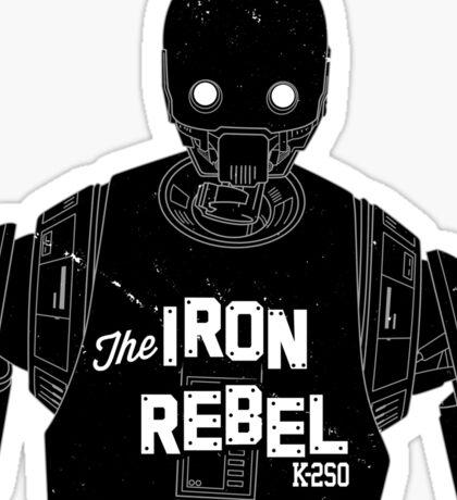The Iron Rebel Sticker