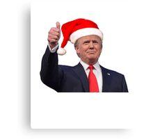 Make ChristmasGreat Again Donald Trump Shirts Canvas Print