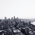 Seattle Skyline by AwayLaughing