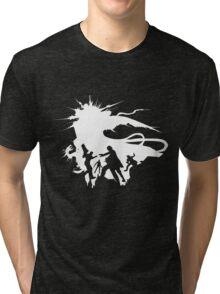 Final Fantasy XV - The Squad (white) Tri-blend T-Shirt
