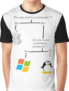 Do you want a computer ?  Graphic T-Shirt
