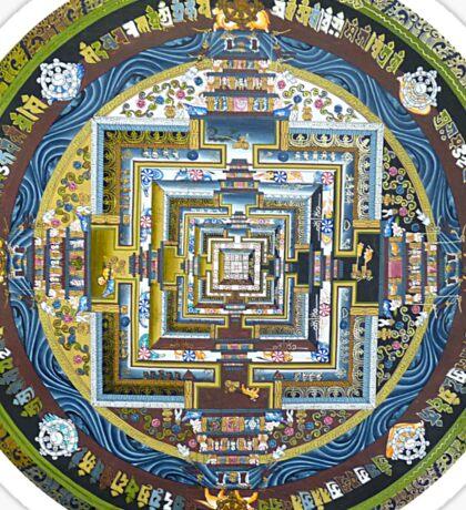 Tibetan Mandala green Sticker