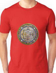 Tibetan Mandala green Unisex T-Shirt