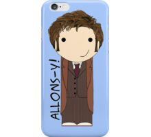 Tenth Doctor kokeshi doll iPhone Case/Skin