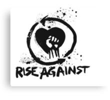 Rise Against Logo Canvas Print