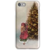 Decorating the Christmas Tree iPhone Case/Skin
