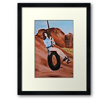 "Lana Del Rey ""Ride"" Painting  Framed Print"