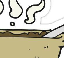 cartoon bowl of stew Sticker