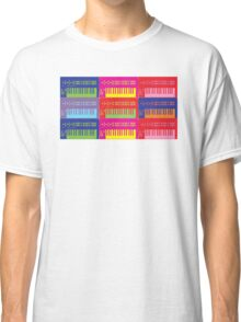 Pop Art Synthesizers Classic T-Shirt