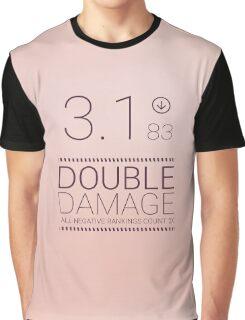 Black Mirror - Nosedive Double Damage Graphic T-Shirt