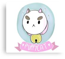 Puppycat! Canvas Print