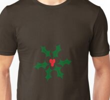 Holly Christmas Unisex T-Shirt