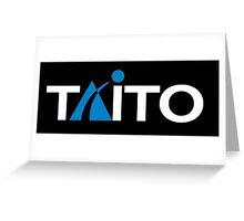 TAITO ARCADE GAMES RETRO Greeting Card