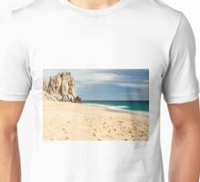 Footsteps in the beach of Cabo San Lucas, Mexico Unisex T-Shirt