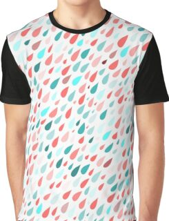 Rainy Day Pattern Graphic T-Shirt