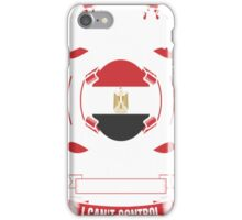 I Am An Egyptian Woman Heart Sleeve Fire In Soul T-Shirt iPhone Case/Skin