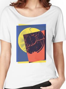 Pop Art Record Shattered Women's Relaxed Fit T-Shirt