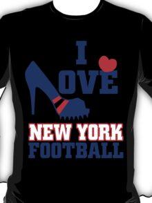I love new york football T-Shirt
