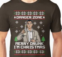 Archer-Danger Zone TV Christmas. Unisex T-Shirt