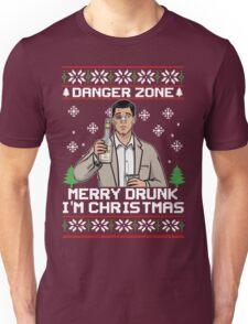 Archer-Danger Zone TV Christmas. Unisex T-Shirt