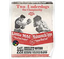 Two Of The Worlds Greatest Underdogs Poster