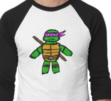 TMNT - Donatello Men's Baseball ¾ T-Shirt