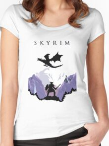 SKYRIM Women's Fitted Scoop T-Shirt