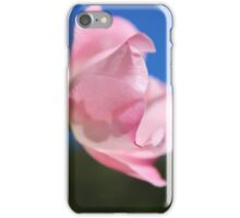 Pink Rose Blue Sky iPhone Case/Skin