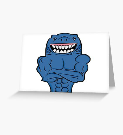 Sharky Greeting Card