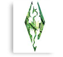 Skyrim in the jungle Canvas Print