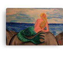 Mermaid art 3 Canvas Print