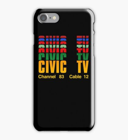 Channel 83  Cable 12 iPhone Case/Skin