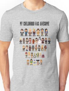 My childhood was awesome Unisex T-Shirt