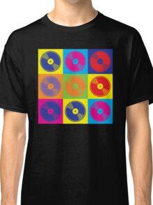 Pop Art Vinyl Records Classic T-Shirt