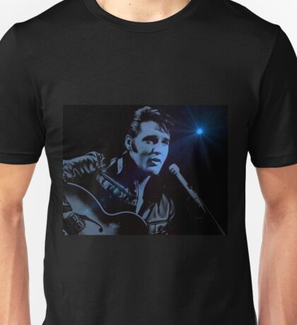 The KING Rocks On Unisex T-Shirt