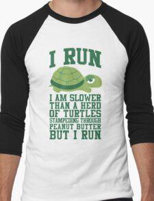 I Run Men's Baseball ¾ T-Shirt