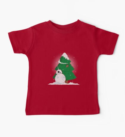 Snowdroid Baby Tee