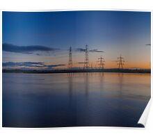 Pylon Sunset Poster