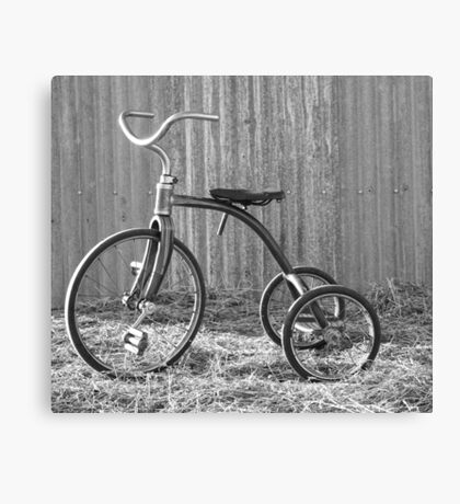 Tricycle...... Canvas Print